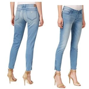 Guess Marilyn cropped jeans w zippers  3 ZIP US 23